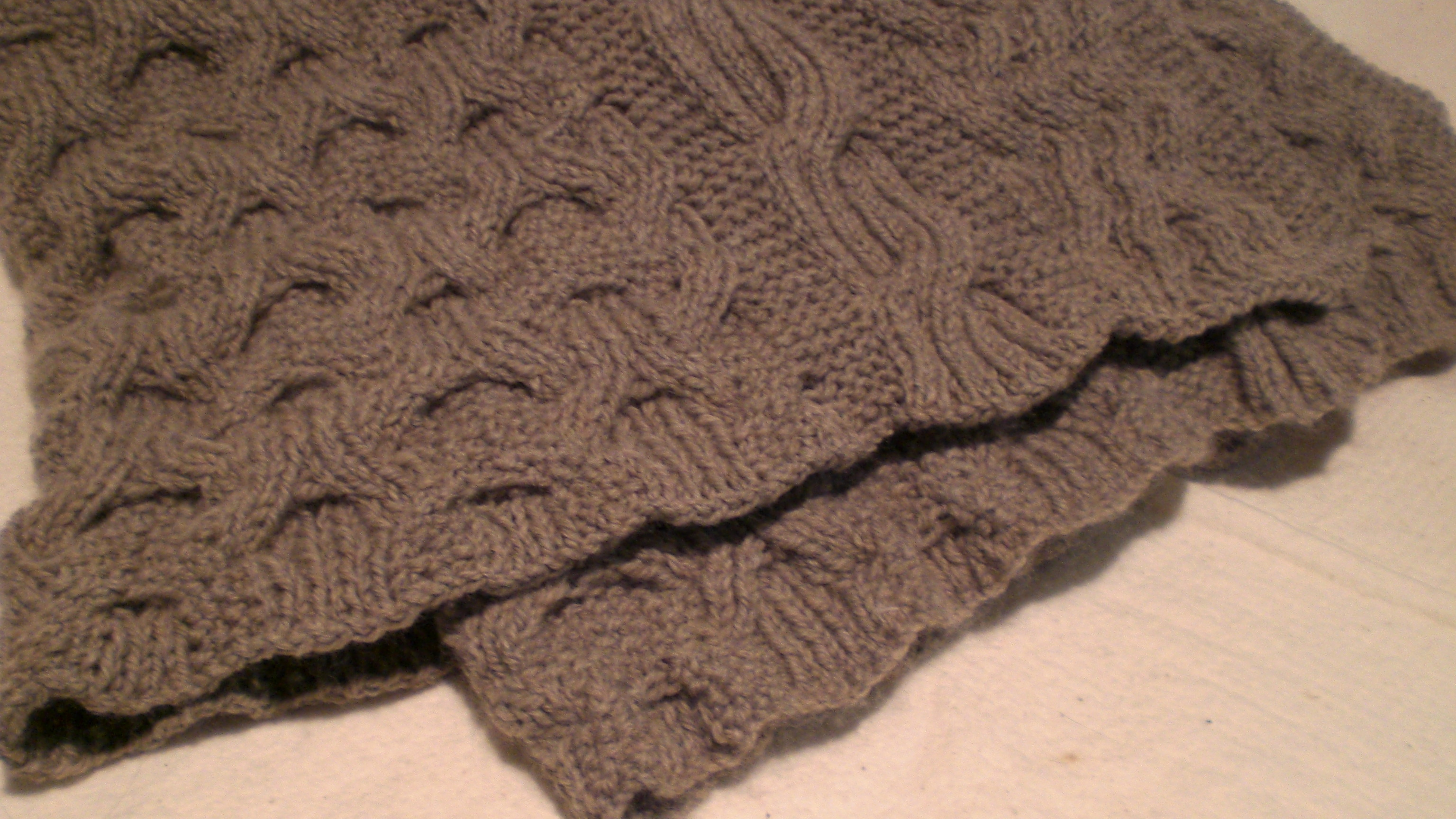 Cable Knit Blanket Pattern Cable Knitting Patterns