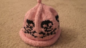 Skull and Crossbones Baby Hat
